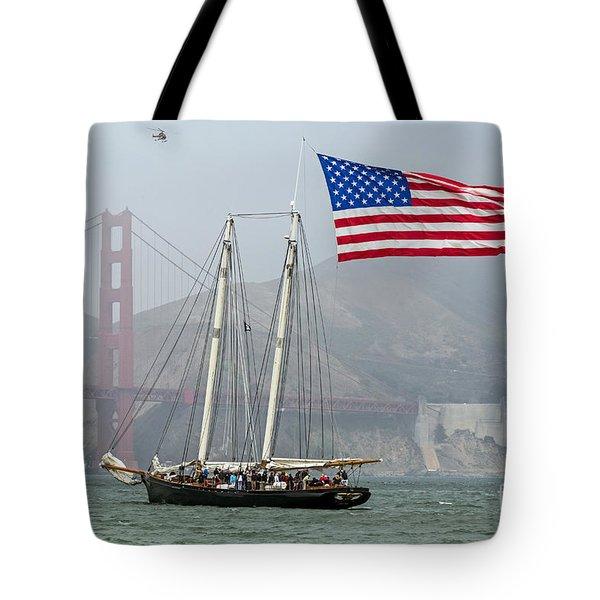 Flag Ship Tote Bag