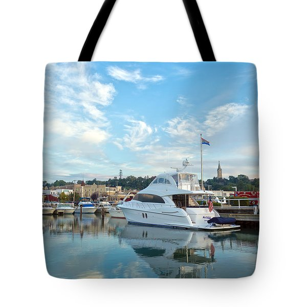 Flag View II Tote Bag