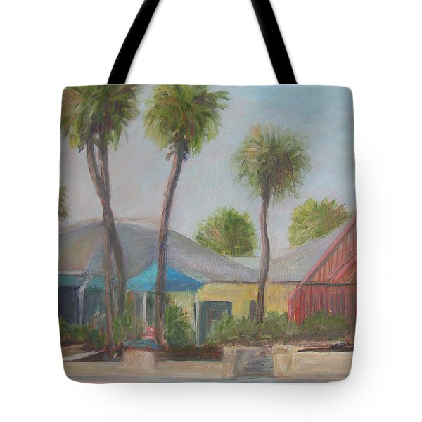 Flagler Beach Shops Tote Bag