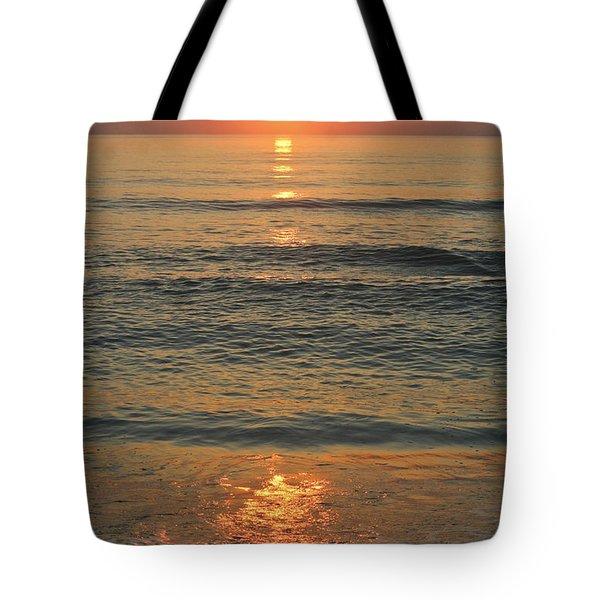 Flagler Beach Sunrise Tote Bag