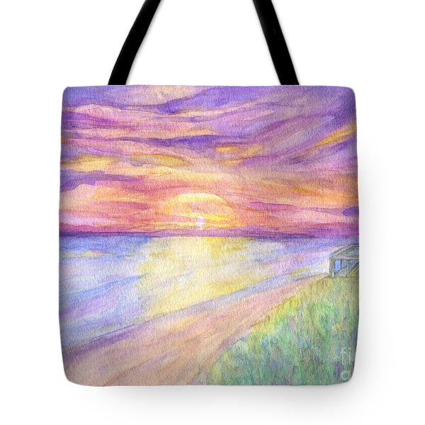 Flagler Beach Sunrise Tote Bag