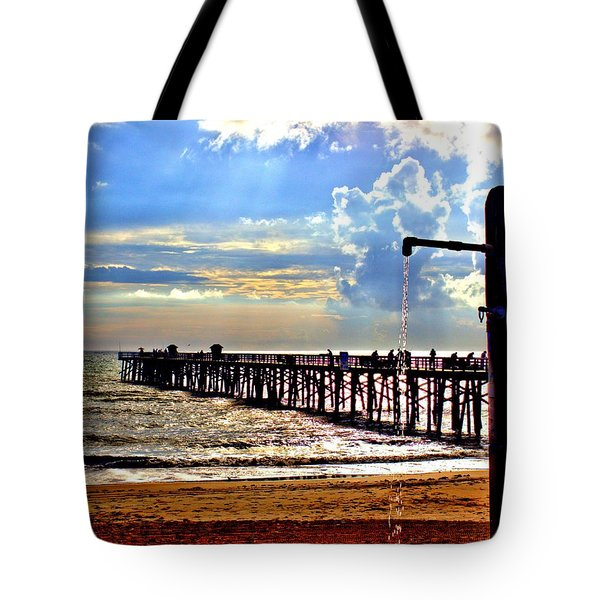 Flagler Pier Heaven Tote Bag
