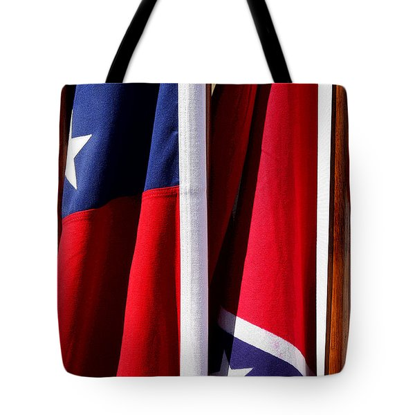 Flags Of The North And South Tote Bag by Joe Kozlowski