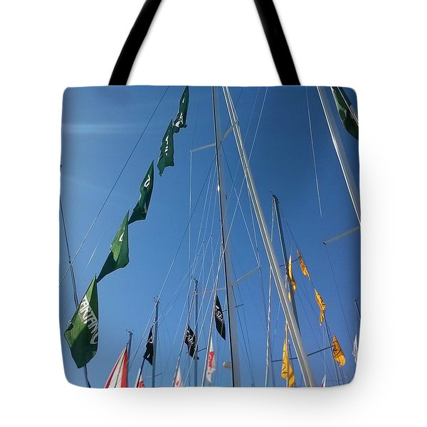 Flags Tote Bag