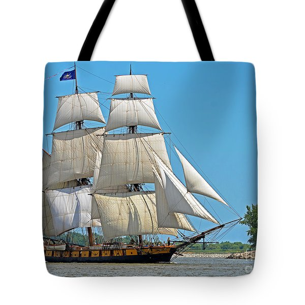 Flagship Niagara Tote Bag by Rodney Campbell