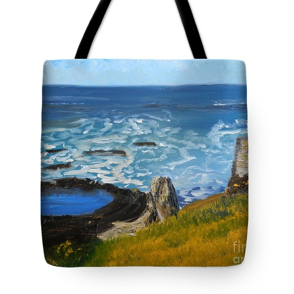 Flagstaff Point  Tote Bag