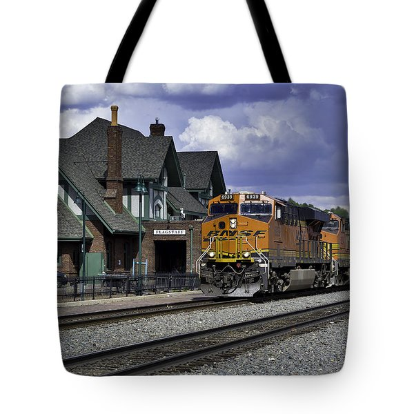 Flagstaff Station Tote Bag