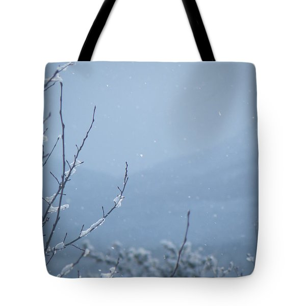 Tote Bag featuring the photograph Flakes by Brian Boyle