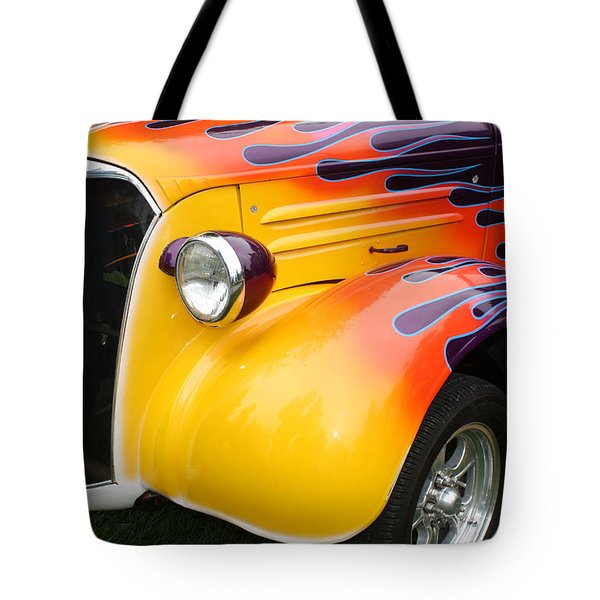 Flame Job Tote Bag by Terry Fleckney