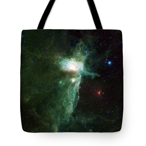 Flame Nebula Tote Bag by Adam Romanowicz