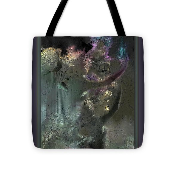 Flame Of Beauty Tote Bag by Freddy Kirsheh