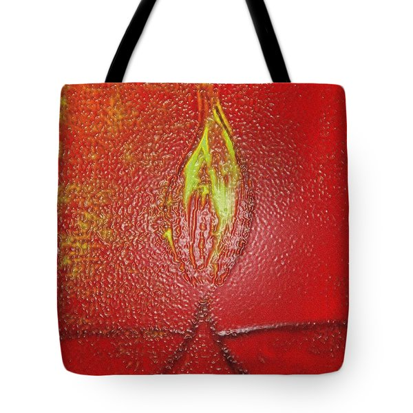 Flame Of Deepawali Tote Bag