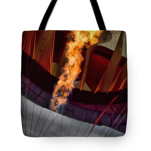 Flame On Two Tote Bag by Bob Orsillo