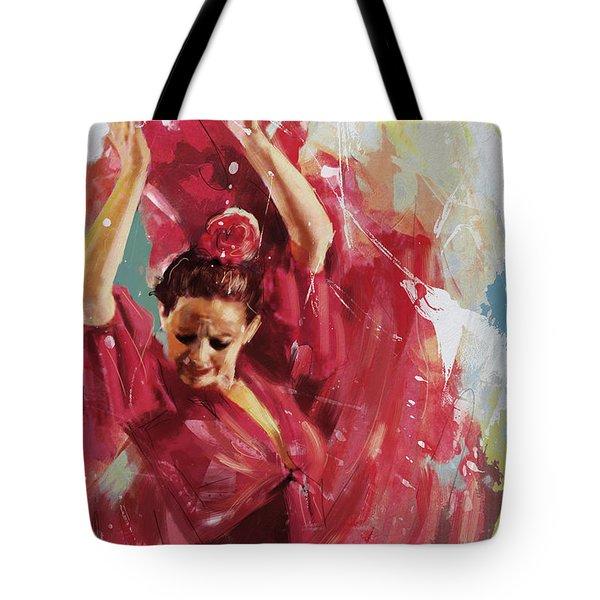 Flamenco 34 Tote Bag