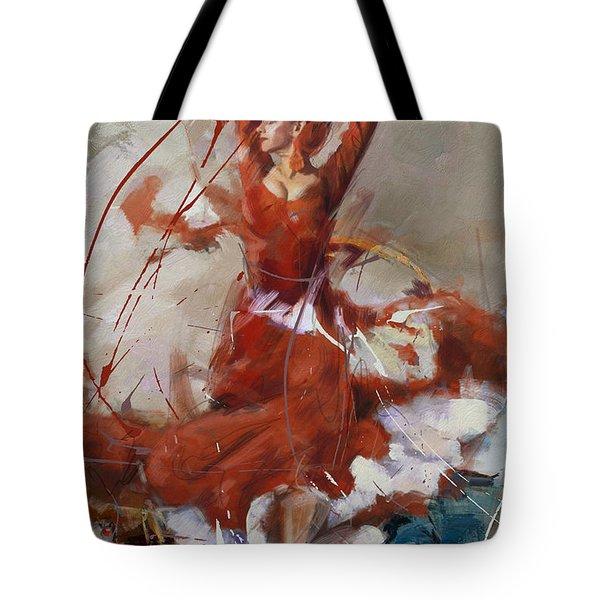 Flamenco 37 Tote Bag
