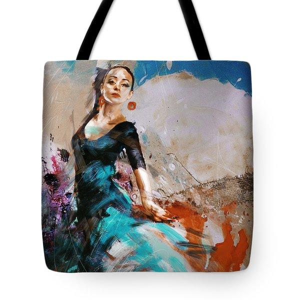 Flamenco 42 Tote Bag