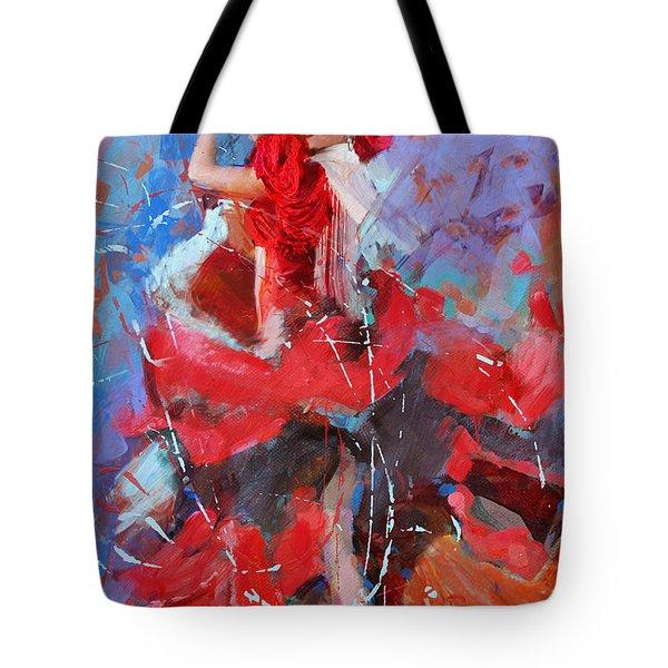 Flamenco 48 Tote Bag