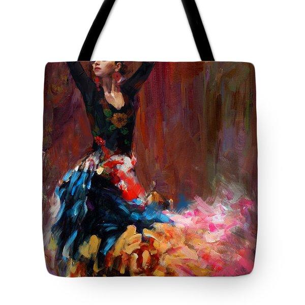 Flamenco 50 Tote Bag