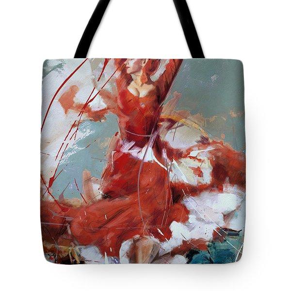 Flamenco 55 Tote Bag