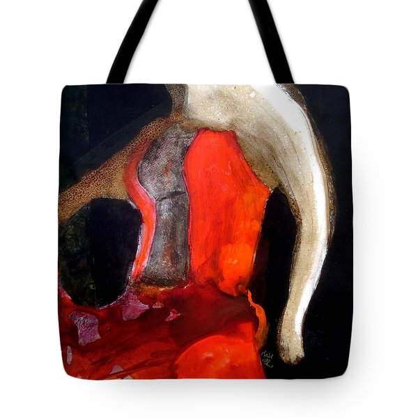 Flamenco Caliente Tote Bag