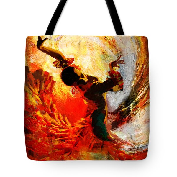 Flamenco Dancer 021 Tote Bag