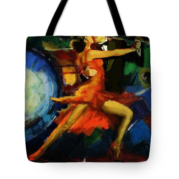 Flamenco Dancer 029 Tote Bag