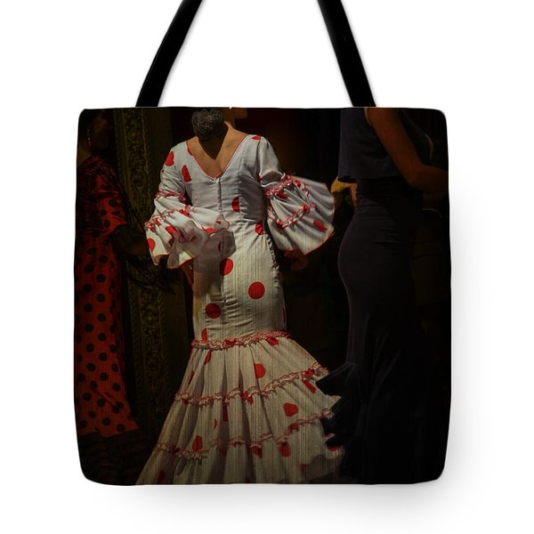 Flamenco Dancer #14 Tote Bag by Mary Machare