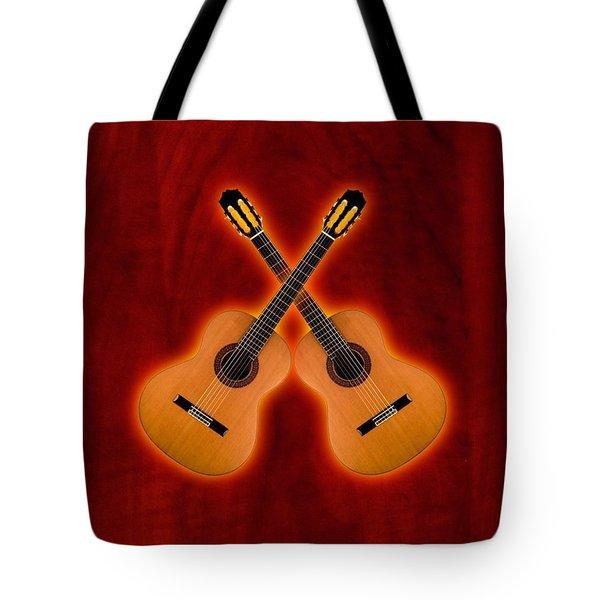 Flamenco  Guitar  Tote Bag by Doron Mafdoos