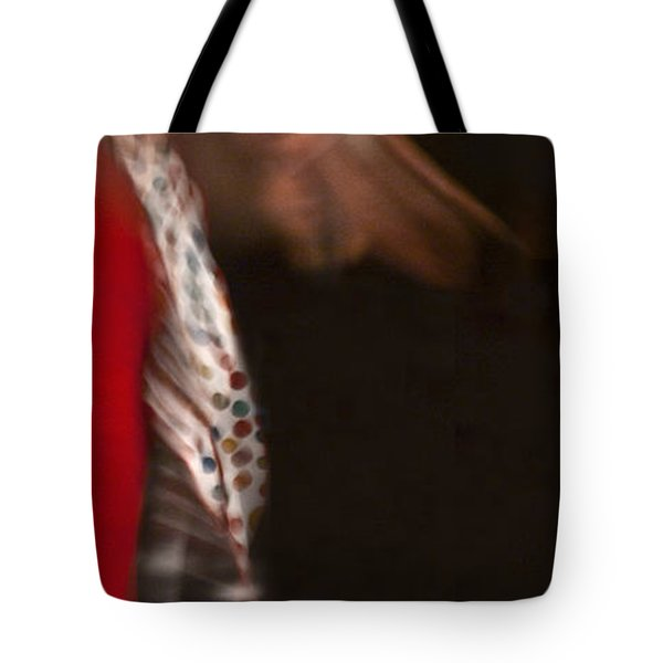 Tote Bag featuring the photograph Flamenco Series 3 by Catherine Sobredo