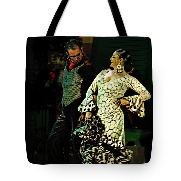 Flamenco Series No 11 Tote Bag by Mary Machare