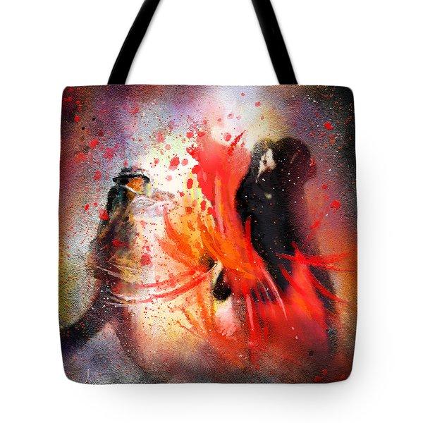 Flamencoscape 07 Tote Bag by Miki De Goodaboom