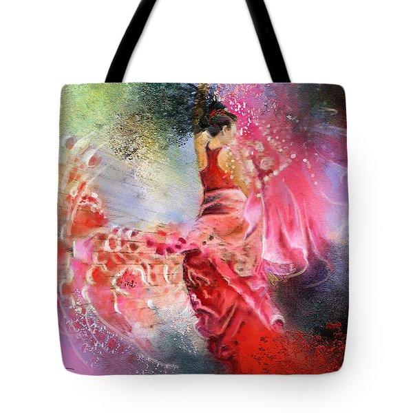 Flamencoscape 13 Tote Bag