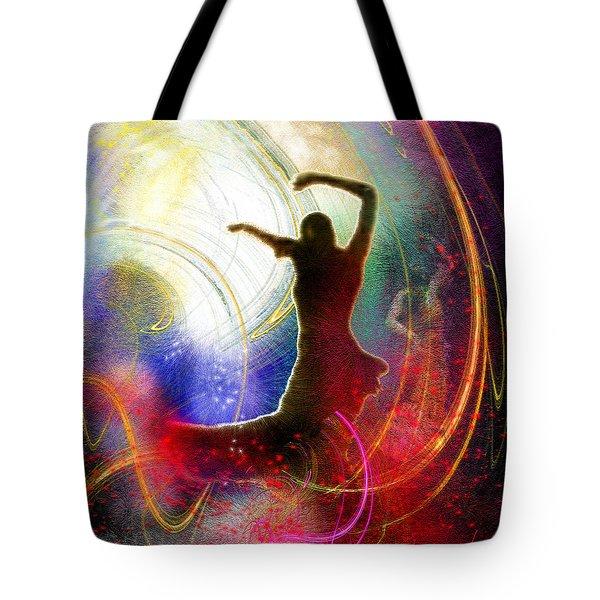 Flamencoscape 16 Tote Bag by Miki De Goodaboom