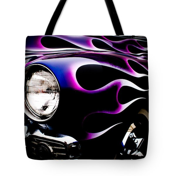 Flaming Classic Tote Bag by Joann Copeland-Paul
