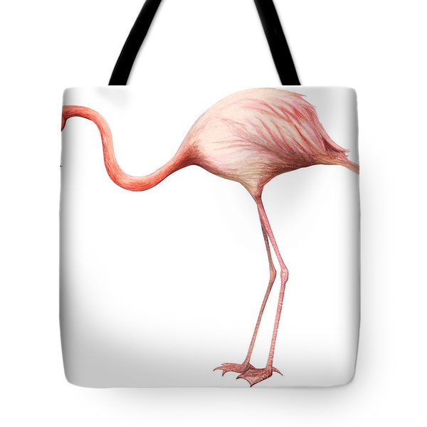 Flamingo Tote Bag by Anonymous