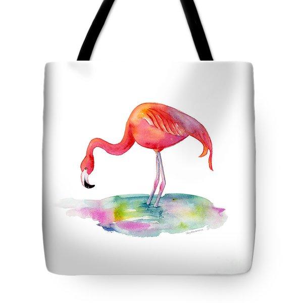 Flamingo Dip Tote Bag