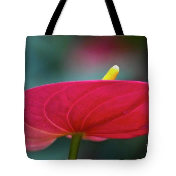 Flamingo Flower 1 Tote Bag by Heiko Koehrer-Wagner