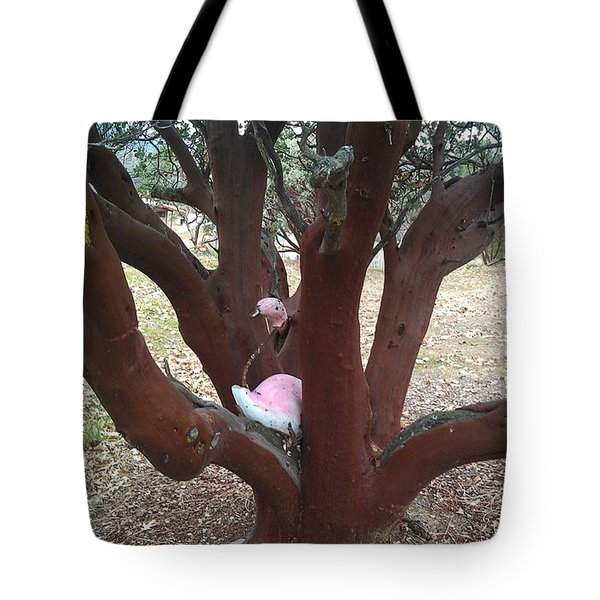 Flamingo Nesting Tote Bag