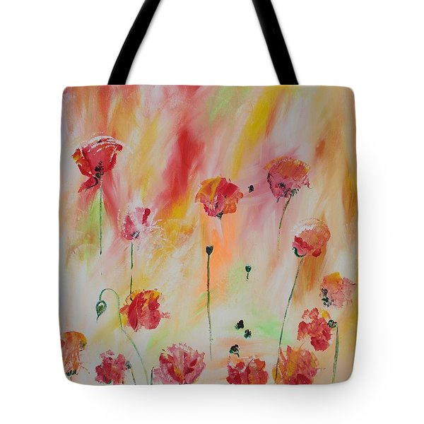 Flanders Field Tote Bag by PainterArtist FIN