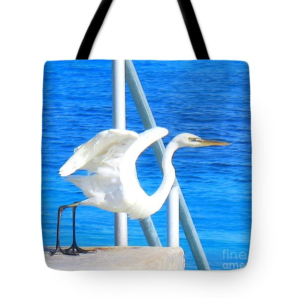 Flaps Up Tote Bag by Patti Whitten