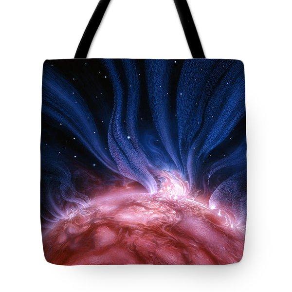 Flare Star Tote Bag
