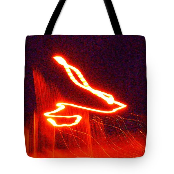 Flare Up On The Sun Tote Bag