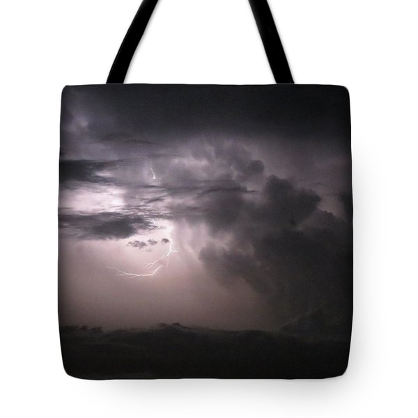 Flashes Of Lightening Tote Bag