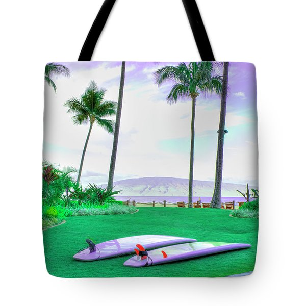 Flat Day Tote Bag