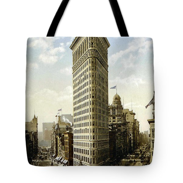 Flat Iron Building New York 1903 Tote Bag by Unknown