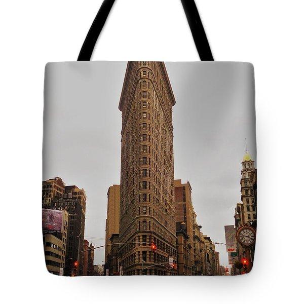 Flatiron Tote Bag by Benjamin Yeager
