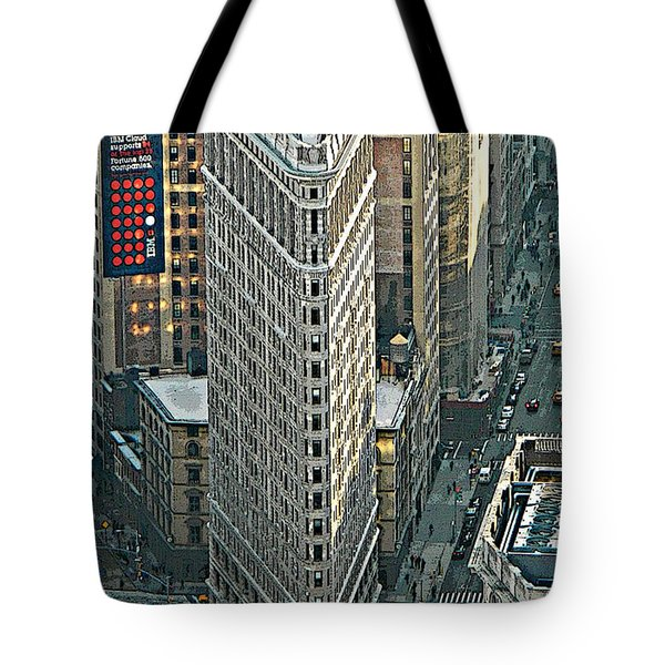 Flatiron Building Nyc 1 Tote Bag