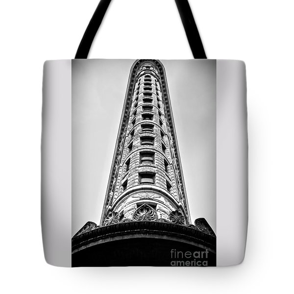 Flatiron Building - Prow Tote Bag by James Aiken