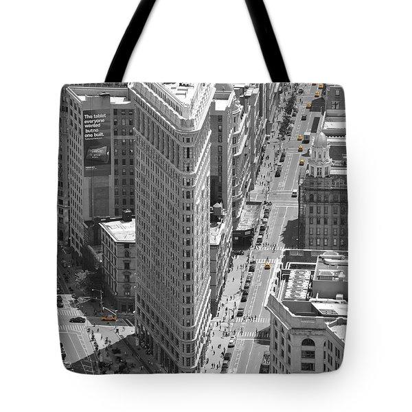 Tote Bag featuring the photograph Flatiron Building by Randi Grace Nilsberg
