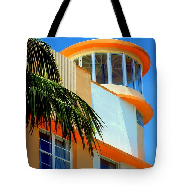 Flavour Of Miami Tote Bag by Karen Wiles